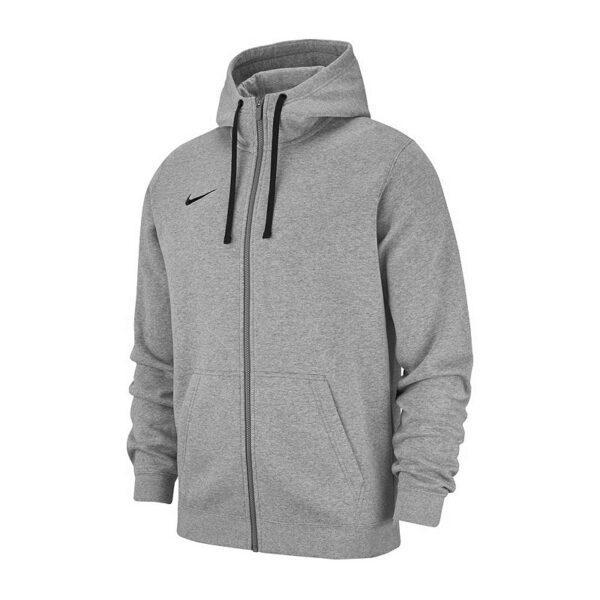 Купить Толстовка детская Nike Team Club 19 Fullzip Fleece Hoody 063 - Фото 3.