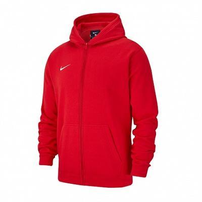 Купить Толстовка Nike Team Club 19 Fullzip Fleece Hoody - Фото 1.