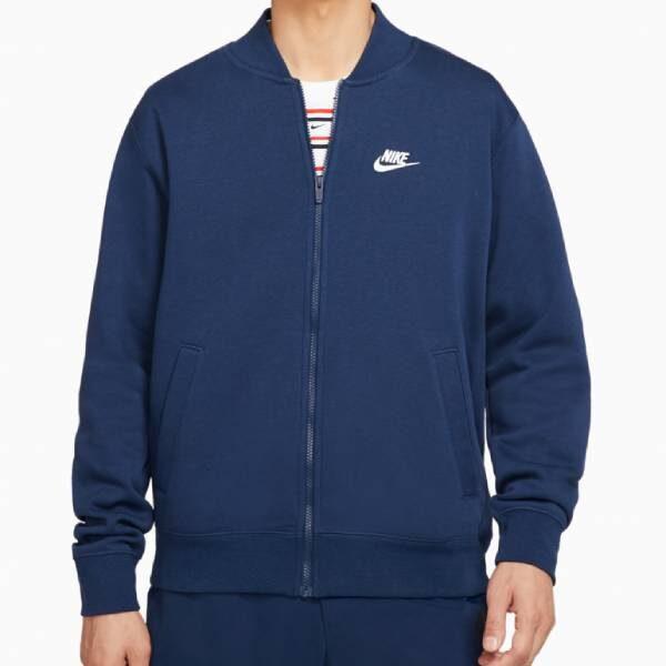 Купить Бомбер Nike NSW Club  - Фото 6.
