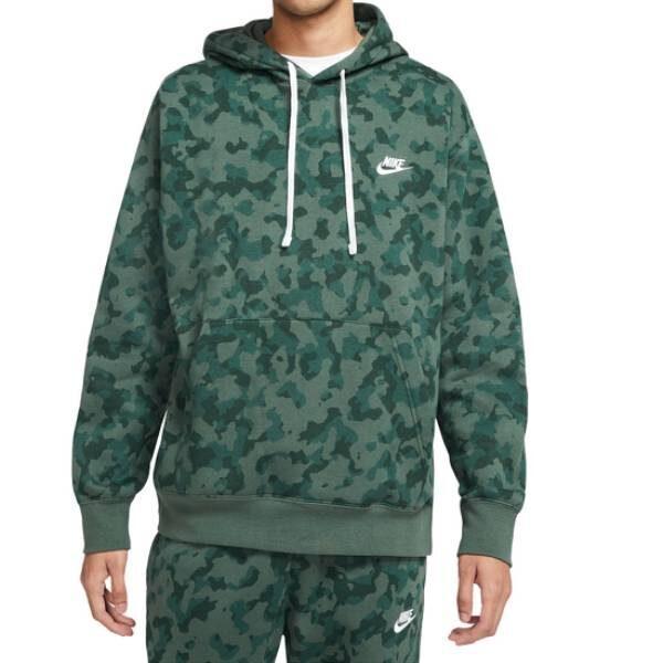 Купить Толстовка Nike NSW Club Camo - Фото 17.